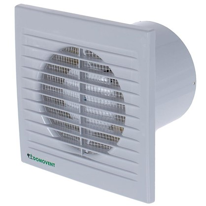 Вентилятор осевой Домовент 100 СВ D100 мм 14 Вт