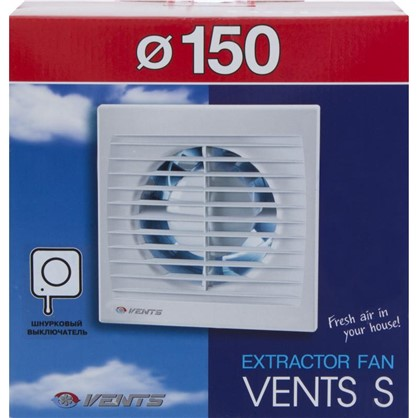 Вентилятор осевой Вентс 150 СВ D150 мм 24 Вт