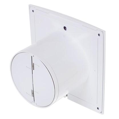 Вентилятор осевой вытяжной Slim 4 D100 мм 14 Вт