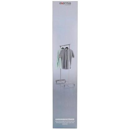 Доставка Вешалка напольная Axentia 1650 мм металл цвет серый по России