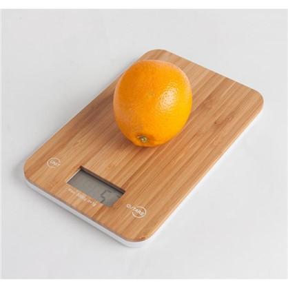 Весы настольные Bao 230х150х140 мм цвет бамбук