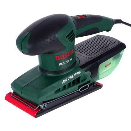 Купить Вибрационная шлифовальная машина Bosch PSS 200 AC 200 Вт 92х182 мм дешевле