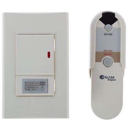 Купить Выключатель Anam Zunis 1 клавиша дистанционное управление с подсветкой цвет бежевый дешевле