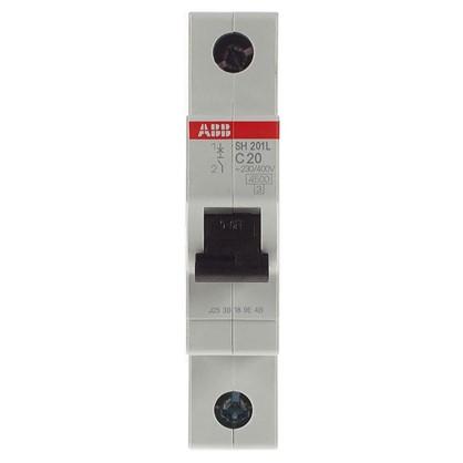 Купить Автоматический выключатель ABB 1 полюс 20 А дешевле