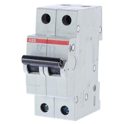 Автоматический выключатель ABB 2 полюса 10 A