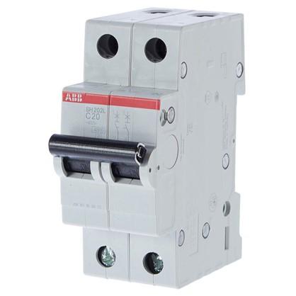 Купить Автоматический выключатель ABB 2 полюса 20 дешевле