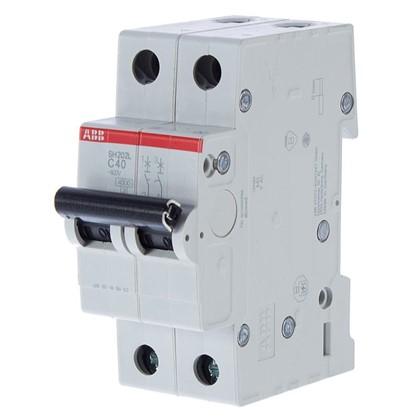 Купить Автоматический выключатель ABB 2 полюса 40 A дешевле
