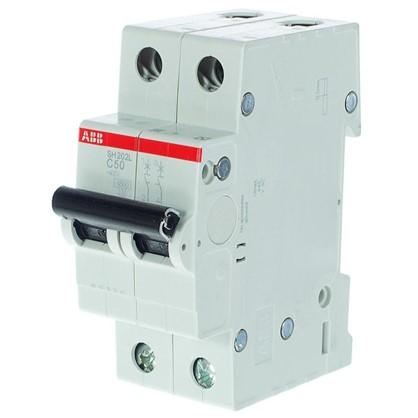 Купить Автоматический выключатель ABB 2 полюса 50 A дешевле