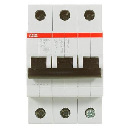 Автоматический выключатель ABB 3 полюса 10 А