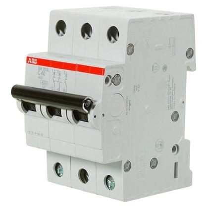Купить Автоматический выключатель ABB 3 полюса 40 А дешевле