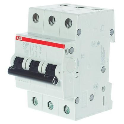 Автоматический выключатель ABB 3 полюса 63 A