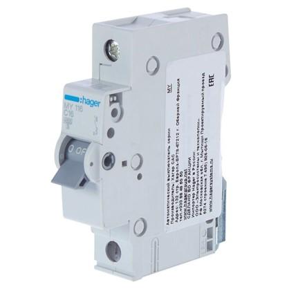 Автоматический выключатель Hager 1 полюс 16 A цена