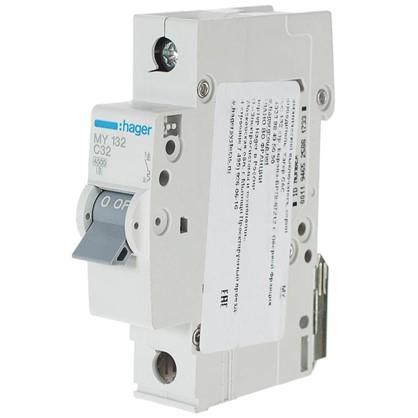 Купить Автоматический выключатель Hager 1 полюс 32 A дешевле