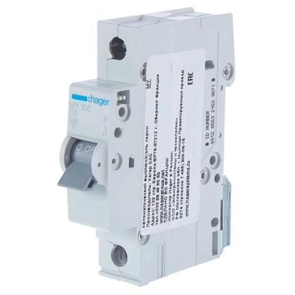 Автоматический выключатель Hager 1 полюс 6 A