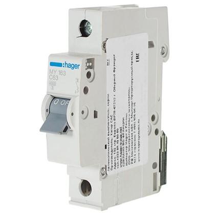 Купить Автоматический выключатель Hager 1 полюс 63 A дешевле
