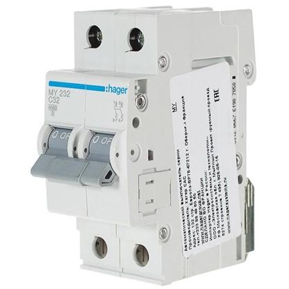Купить Автоматический выключатель Hager 2 полюса 32 A дешевле