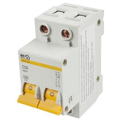 Купить Автоматический выключатель IEK Home В А47-29 2 полюса 50 А дешевле