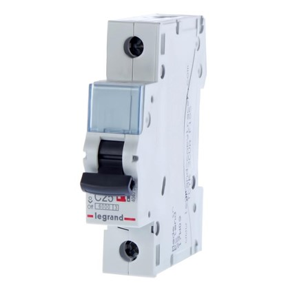 Купить Автоматический выключатель Legrand 1 полюс 25 А дешевле