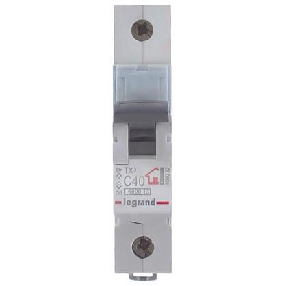 Купить Автоматический выключатель Legrand 1 полюс 40 А дешевле