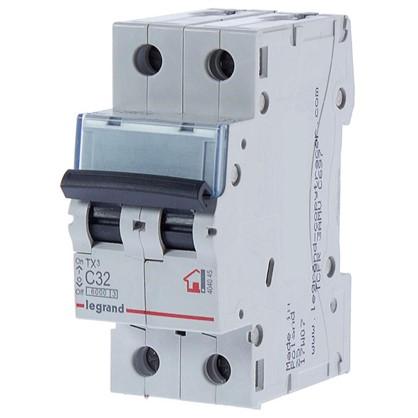 Автоматический выключатель Legrand 2 полюса 32 А