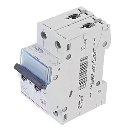 Автоматический выключатель Legrand 2 полюса 40 А
