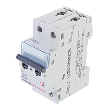 Автоматический выключатель Legrand 2 полюса 50 А