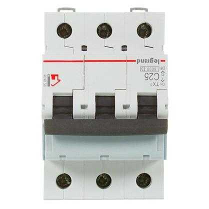 Автоматический выключатель Legrand 3 полюса 25 А
