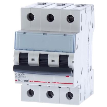 Автоматический выключатель Legrand 3 полюса 32 А