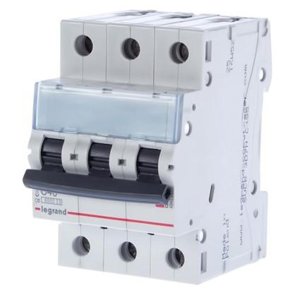 Купить Автоматический выключатель Legrand 3 полюса 40 А дешевле