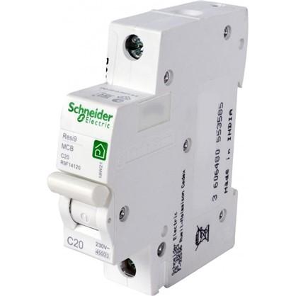 Автоматический выключатель Schneider Electric Resi9 1 полюс 20 A