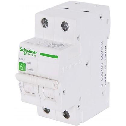 Купить Автоматический выключатель Schneider Electric Resi9 2 полюса 10 A дешевле