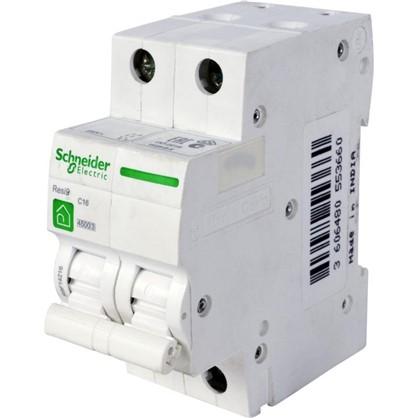 Автоматический выключатель Schneider Electric Resi9 2 полюса 16 A