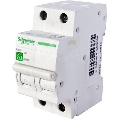 Купить Автоматический выключатель Schneider Electric Resi9 2 полюса 25 A дешевле
