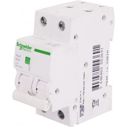 Купить Автоматический выключатель Schneider Electric Resi9 2 полюса 32 A дешевле