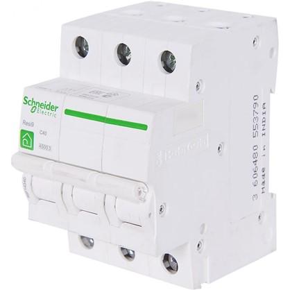 Автоматический выключатель Schneider Electric Resi9 3 полюса 40 A
