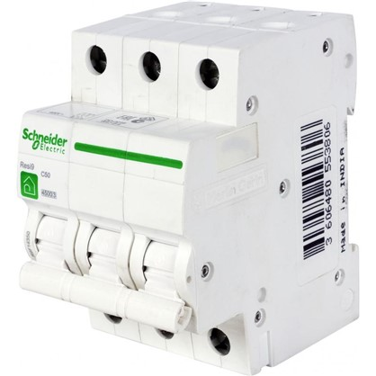 Купить Автоматический выключатель Schneider Electric Resi9 3 полюса 50 A дешевле