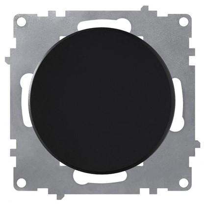 Выключатель Florence 1 клавиша цвет чёрный