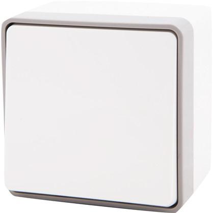 Купить Выключатель Gallant влагозащищённый 1 клавиша цвет белый дешевле