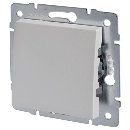 Купить Выключатель Lexman Виктория 1 клавиша цвет жемчужно-белый матовый дешевле