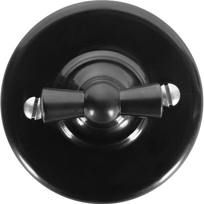 Выключатель на два положения цвет чёрный
