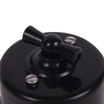 Выключатель на одно положение цвет чёрный