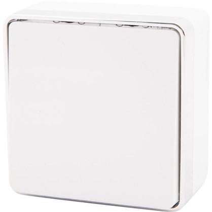 Выключатель проходной Gallant 1 клавиша цвет белый