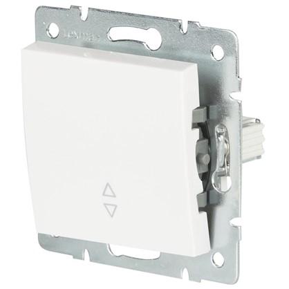 Выключатель проходной Lexman Виктория 1 клавиша цвет белый