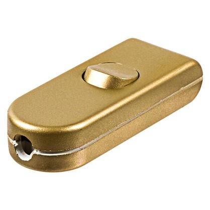 Выключатель проходной золотой 10 А 220 В