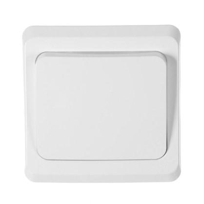 Выключатель Schneider Electric Этюд 1 клавиша цвет серый
