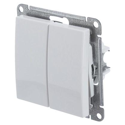 Выключатель Schneider Electric W59 2 клавиши цвет белый