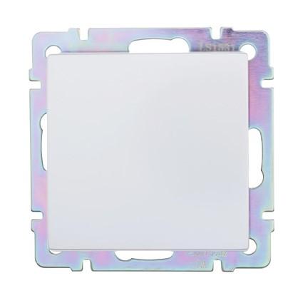 Выключатель Werkel 1 клавиши проходной цвет серебро