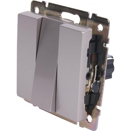 Выключатель WL01-SW-3G-C 3 клавиши цвет серебристый