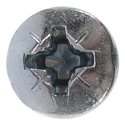 Винт с полукруглой головкой DIN 7985 M6х12 мм