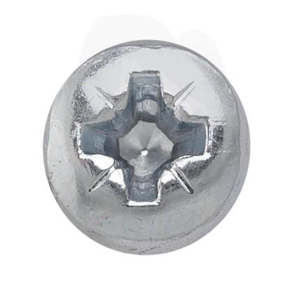 Винт с полукруглой головкой M4x8 мм 20 шт.